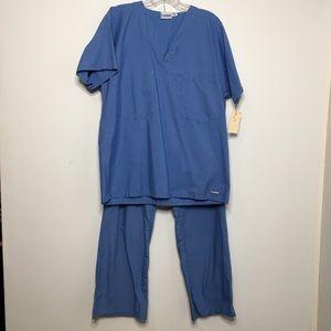 Blue Doctors Scrubs Costume